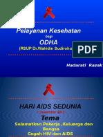 Pelayanan Kesehatan ODHA Unhas 01122013