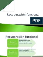 Recuperación Funcional