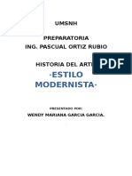 Estilo Modernista