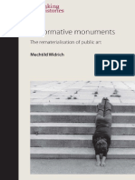 Performative Monuments. the Rematerialis