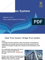 2. Truss Load System & Analaysis