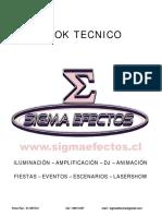 Book Sigma Efectos(Mayo 2016)