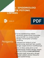 Desain Survei Potong Lintang