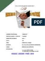 Trabajo Monografico Sobre Deposito y Fianza