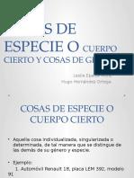 Expo Civil Cosas de Género y Especie