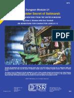 U1 Sinister Secret of Saltmarsh Visuals