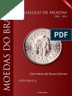 E Book Catálogo de Moedas Do Brasil Republica 1