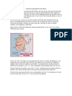 Aspectos Geográficos de Talara