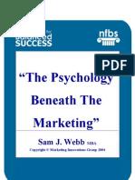 Webb,S,J - The Psychology beneath the Marketing