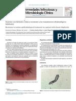 Paciente Con Blefaritis Resistente a Los Tratamientos Oftalmológicos Habituales