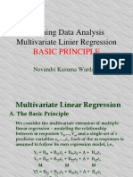 Multivariate Linear Regression