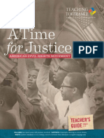 A Time for Justice America's Civil Right Movement_Teacher's Guide