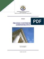 Modulo Curso Proceso Contencios Administrativo - UNT