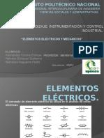Elementos Electricos y Mecanicos