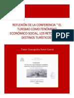 Reporte Individual Sobre La Conferencia