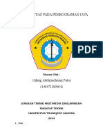 Jurnal Java_Gilang Abdurrachman Putra_140471100004