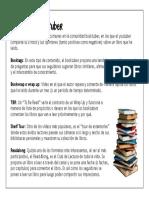 Diccionario Booktuber