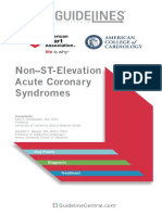 Acute Coronary Syndromes Guidelines