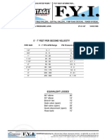 Pipe Sizing - GPM & Pressure Loss