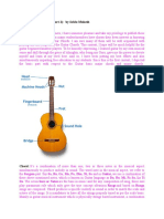 Basic Chords of Guitar