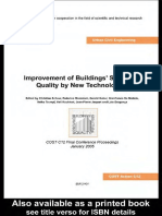 Improvement of Buildings' Structural Quality by New Technologies