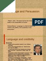 Language and Persuasion