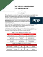 Basics of Metallographic Specimen Preparation