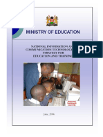 National ICT Strategy for Education and Training