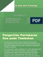 PPT Pertukaran Gas Dan Fisiologi Stomata