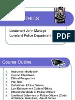 Police Ethics 2
