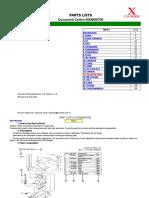 Part Lists DC506-606-706