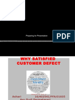 1. Why Satisfied Customers Defect Fix