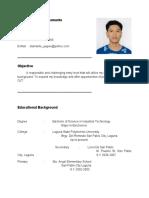 Application Letter For Ojt Students