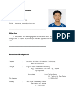 Sample resume for ojt student information technology resume for ojt im looking for ojt company im electronics student yelopaper Images