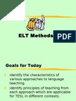 TSL3103 Week 6 ELT Methods