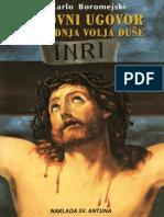 Karlo Boromejski - Duhovni Ugovor i Posljedna Volja Duse