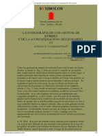 La Iconografía de Los 'Nudos' de Durero y La 'Concatenación' de Leonardo