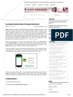 Cara Membuat Aplikasi Biodata Diri Dengan Sqlite Android - Okedroid