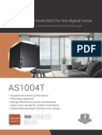 Asustor 4-Bay NAS Server with Marvell ARMADA 385 1GHz Dual Core Processor & 512MB DDR3 Memory datasheet