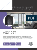 Asustor 2-Bay NAS Server with Intel Celeron 1.6GHz Dual-Core Processor & 2GB DDR3L Memory datasheet