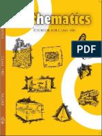 Mathematics Class 8 CBSE (NCERT)
