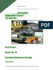 Report 10 - Community Awareness