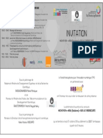 Invitation Cérémonie d'Ouverture Hackathon RISK[S]