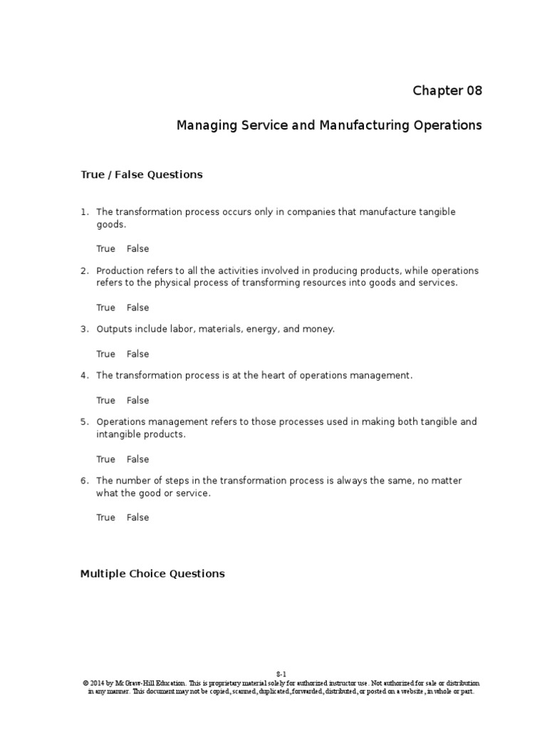 Principle Of Business Ch8 Operations Management Inventory