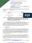 Order on Motion for Summary Judgment in Henley v. DeVore
