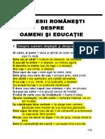 Expresii Romanesti Initiale