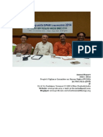 Annual Report of JMN-PVCHR (2013 - 2014)
