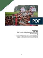 Annual report of JMN-PVCHR( 2015 - 2016)