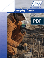 Pile Integrity Tester