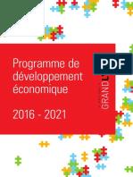 Programme de Développement Économique de la Métropole de Lyon 2016-2021
